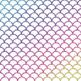Digital Paper Glitter Scallops