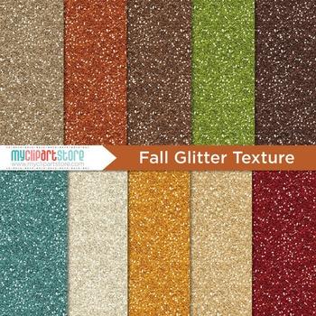Digital Paper Texture - Glitter Texture (Fall / Thanksgiving)