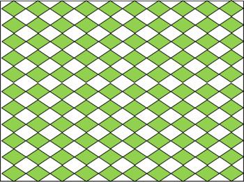 Digital Paper - Green Diamonds