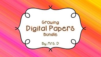 Digital Paper Growing Bundle