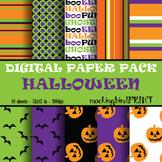 Digital Paper --- Halloween Pack