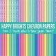 Digital Paper Happy Brights Bundle