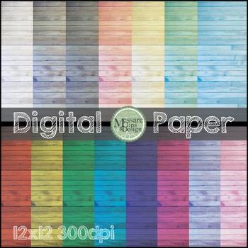 Digital Paper Hardwood Background Texture {Messare Clips a