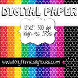Digital Paper - Honeycomb Patterns