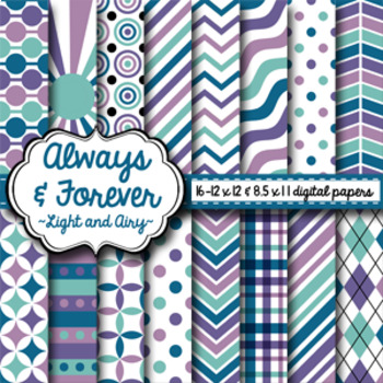 Digital Paper Light and Airy