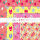 Digital Paper: Little Girls Summer