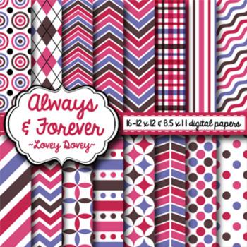 Digital Paper Lovey Dovey