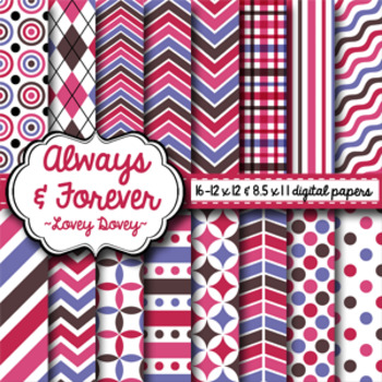 Digital Paper Lovey Dovey