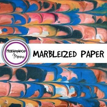 Digital Paper- Marbleized