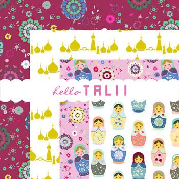 Digital Paper: Matryoshka Dolls