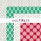 Digital Paper: Merry Christmas Paper Pack