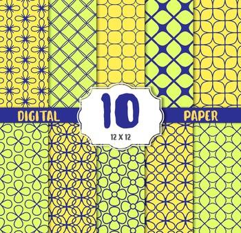Digital Paper, Modern CRAFT PAPERS, digital papers