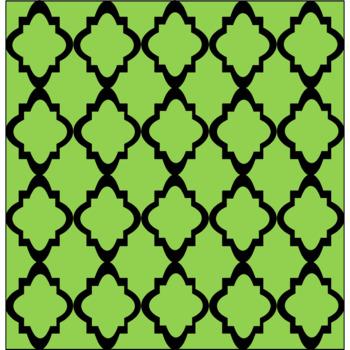 "Digital Paper - Moroccan & Quatrefoils Bundle - 12"" x 12"""