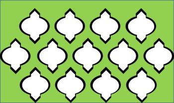 Digital Paper - Moroccan & Quatrefoils Bundle