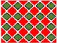 Digital Paper - Moroccan & Quatrefoils - Christmas Colors