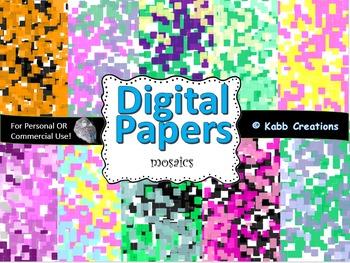 Digital Paper Mosaics!