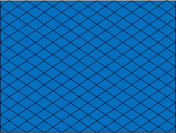 Digital Paper - Ocean Blue Diamonds
