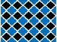 FREE Digital Paper - Ocean Blue Moroccan