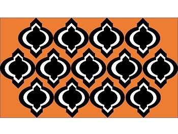 Digital Paper - Orange Moroccan