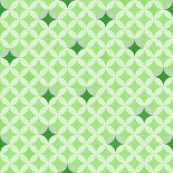 Digital Paper ~ Overlapping Circles ~ Twenty Colors