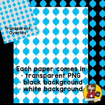 Digital Paper Overlays 1 {Paper Overlays for CU}