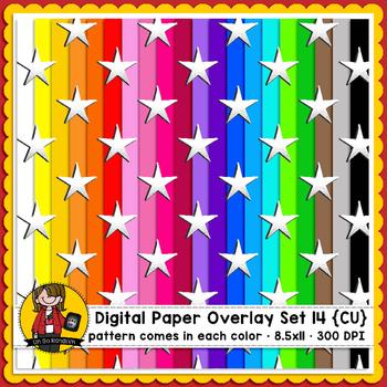 Digital Paper Overlays 14 {Paper Overlays for CU}