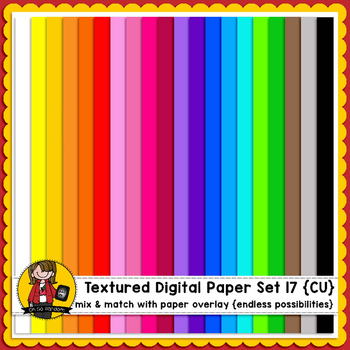 Digital Paper Overlays 17 {Paper & Overlays for CU}