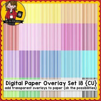 Digital Paper Overlays 18 {Paper Overlays for CU}