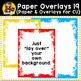 Digital Paper Overlays 19 {Paper & Overlays for CU}