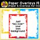 Digital Paper Overlays 19 {Paper & Overlays for CU}