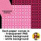 Digital Paper Overlays 2 {Paper Overlays for CU}