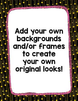 Digital Paper Overlays 20 {Paper & Overlays for CU}