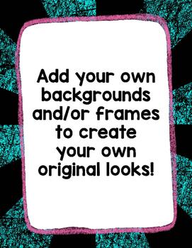 Digital Paper Overlays 21 {Paper & Overlays for CU}