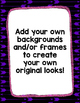 Digital Paper Overlays 22 {Overlay FREEBIE for CU}