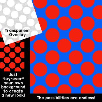 Digital Paper Overlays 3 {Paper Overlays for CU}
