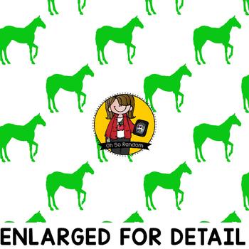 Digital Paper Overlays 6 - Horses {Paper Overlays for CU}