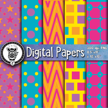 Digital Paper Pack 1-2