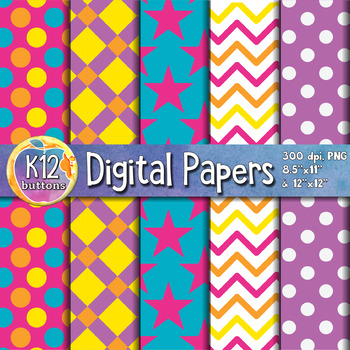 Digital Paper Pack 1-4