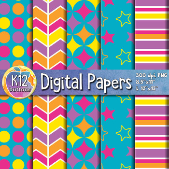 Digital Paper Pack 1-7