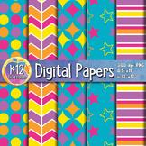Digital Paper Pack 1-7