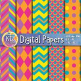 Digital Paper Pack 1-8