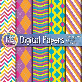 Digital Paper Pack 1-9