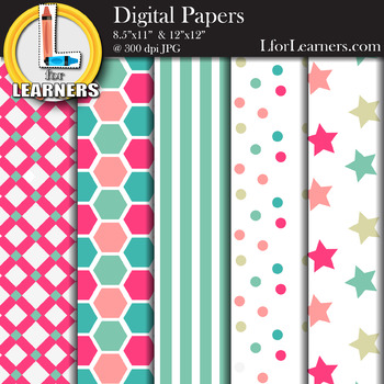 Digital Paper Pack 10