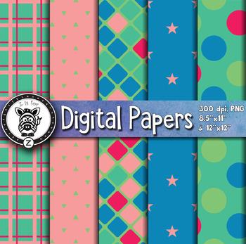 Digital Paper Pack 10-3