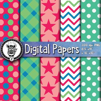 Digital Paper Pack 10-4