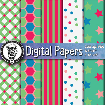 Digital Paper Pack 10-5