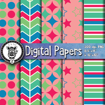 Digital Paper Pack 10-7
