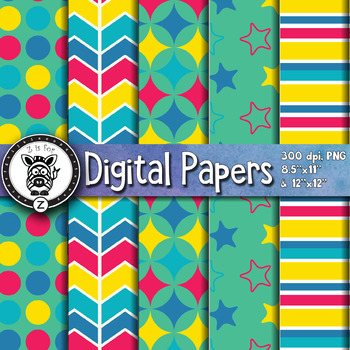 Digital Paper Pack 11-7