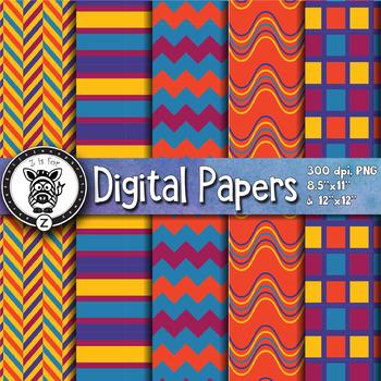 Digital Paper Pack 12-6
