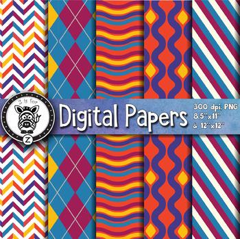 Digital Paper Pack 12-9